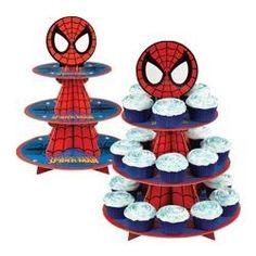 Base Para Cupcakes Del Hombre Araña Wilton 1512-5062