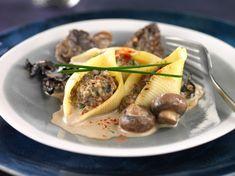 Conchiglionis aux champignons