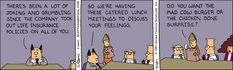 Dilbert Classics by Scott Adams for Thu 18 Mar 2021 #Dilbert #Comics Scott Adams, Website Features, Comic Strips, Dilbert Comics, Jokes, Feelings, Classic, Funny, March