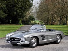1958 Mercedes Benz #300SL Roadster. For all your Mercedes Benz 190SL restoration needs please visit us http://www.bruceadams190sl.com.