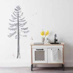Build A Pine Tree Decals