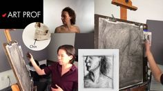 Art Prof, Part 7 of Charcoal Drawing Demo. Art Prof is a free, online educational platform for visual arts created for people of all ages and means. Created by RISD Adjunct Professor Clara Lieu and Thomas Lerra. Drawing Sketches, Drawings, Charcoal Drawing, Visual Arts, Art Techniques, Art Tutorials, Home Art, Professor, Platform