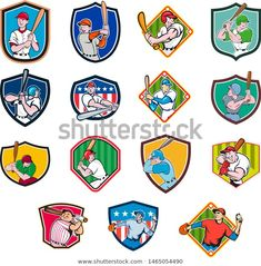 Find Collection Cartoon Icon Illustration American Baseball stock images in HD and millions of other royalty-free stock photos, illustrations and vectors in the Shutterstock collection. Thousands of new, high-quality pictures added every day. Cartoon Icons, Sports Art, Porsche Logo, Royalty Free Stock Photos, Baseball, Retro, American, Illustration, Artist