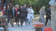 "Lana, Jared, Emilie, Rebecca, Josh, Ginnifer, Liam, Colin O'Donoghue and Jennifer Morrison - 5 * 1 "" Dark Swan"" 14 July 2015"
