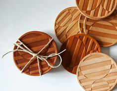 Commune Leather Coasters
