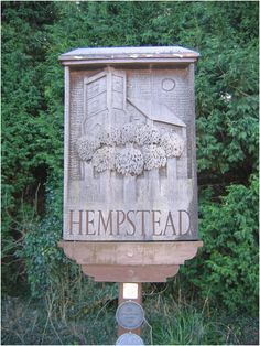 Hempstead, Essex Essex England, Town Names, Place Names, Decorative Signs, Old Signs, Vintage Signs, British, Symbols, Neon