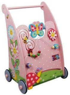 Modern baby push walker