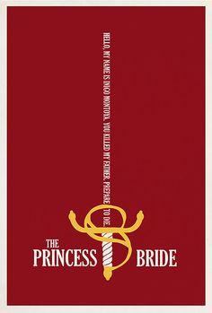 The Princess Bride by Matt Owen  The Princess Bride- quote by Inigo