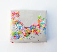 'Shake it' confetti wrap