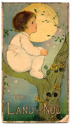 www.childrensbooksonline.org --  'The Land of Nod' by Margaret Evans Price; illustrated by Margaret Evans Price; published in 1916 by Stecher Litho Co. A lovely book of bedtime verses, illustrated with rich color plates.