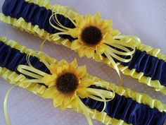 Hey, I found this really awesome Etsy listing at https://www.etsy.com/listing/183017696/sunflower-bridal-garter-set-sunshine