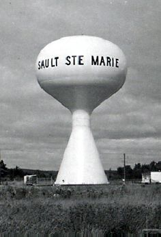 Sadly it doesn't have anywords on it now. Sault Ste Marie Ontario, Sault Ste Marie Michigan, Michigan Travel, State Of Michigan, Hockey Training, Fast Foods, Water Tower, Best Western, Rv Camping
