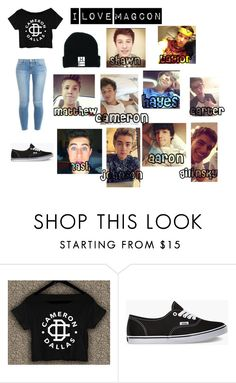"""Untitled #88"" by niya2fie ❤ liked on Polyvore featuring Vans, Frame Denim and oldmagcon"