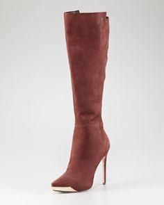 X1BVD Rachel Roy Metal-Detailed Tall Boot....elegant yet sexy!