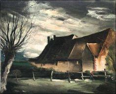 La Haute Folie, 1933, by Maurice de Vlaminck (French, 1876–1958).