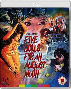 Five Dolls For An August Moon Dual Format Blu-Ray + DVD: Amazon.co.uk: Edwige Fenech, William Berger, Ira von Fürstenberg, Mario Bava: DVD & Blu-ray