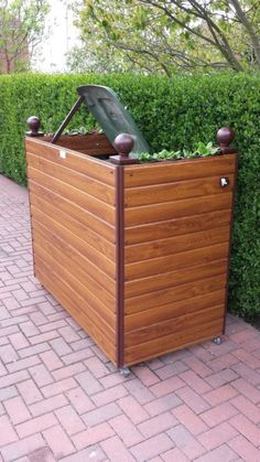 25 Best Wheelie Bin Storage Images Garden Ideas Garden