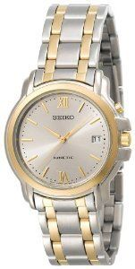 Seiko Skh640 Kinetic Two Tone Watch women watch  2dayslook  new  watch   015e07524a