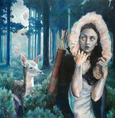 Artemis on the Hunt  Brianna Angelakis