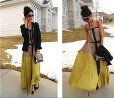 Running Late: To the Max maxi skirt