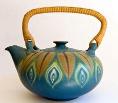 Studio Teapot from Dybdahl Denmark c 1960