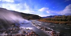 The Boiling River -Yellowstone