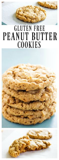 4-ingredient-peanut-butter-cookies-pin made with brown sugar