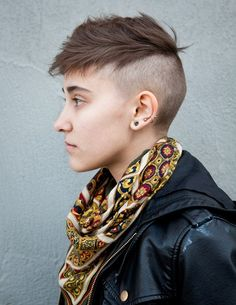 androgyny.  This haircut seems so practical.  Very cool.