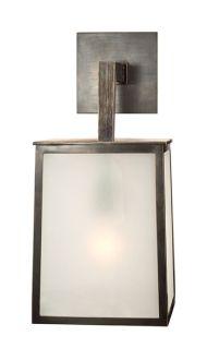 "Circa Lighting   OJAI LARGE SCONCE item # BBL2072  Height: 17 3/4"" Width: 8"" Extension: 10"" Backplate: 4"" Square Wattage: 1 - 60 Watt Type A Socket: Keyless"