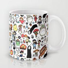 Kawaii+Ghibli+Doodle+Mug+by+KiraKiraDoodles+-+$15.00