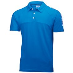 HP Match Polo.  Inspired by the Helly Hansen racing team, this cotton pique polo with race inspired design will give you a stylish and sporty look on your sailing and yachting adventures. Cut for ease of movement with raglan sleeves and moved side seams.
