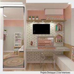 57 Cozy Teen Girl Bedroom Design Trends for 2019 Room Makeover, Room, Room Design, Home, Bedroom Design, House Rooms, Small Room Bedroom, Small Bedroom, Dream Rooms