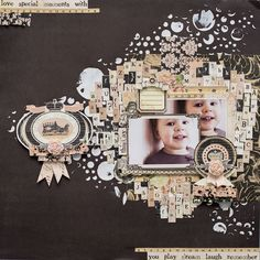 Crafty by AgnieszkaBe: Prima Prima Marketing, Paper Crafts, In This Moment, Bap, Crafty, Frame, Layouts, Scrapbooking, Inspiration
