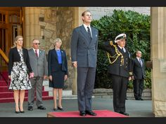 Prince Edward and Countess Sophie at Government House in Victoria, BC 12 Sep 2014