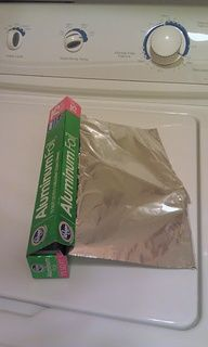 No More Static Cling! Crumple Up A Piece Of Aluminum Foil  Put It In The Dryer
