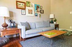 James & Shanna's Mid-Mod Bungalow — House Tour   Apartment Therapy