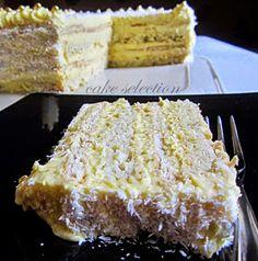 cake selection: Rafaelo torta