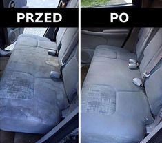 These DIY car detailing hacks are perfect for people who want their car to stay looking new for longer. Car Seat Upholstery, Cleaning Car Upholstery, Seat Cleaner, Car Cleaning Hacks, Diy Cleaners, Diy Car, Home Hacks, Car Detailing, Fun To Be One