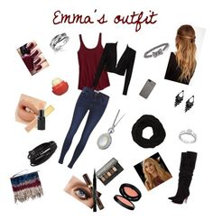 """""""Emma in London"""" by starlightdreamer14 ❤ liked on Polyvore featuring mode, American Eagle Outfitters, Alice + Olivia, ONLY, Christian Louboutin, Marni, Tarxia, VILA, France Luxe et Monica Rich Kosann"""
