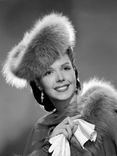 Ann Miller lovely look