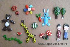 kokokoKIDS: Painted Rocks.  Many different and beautiful ideas for painting on rocks