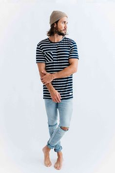 Knit Tee, Duvin, Fall 15, Holiday 15 Collection, Men's Fashion, Streetwear, Streetstyle, Surfwear, Florida, Duvin Design, Surf