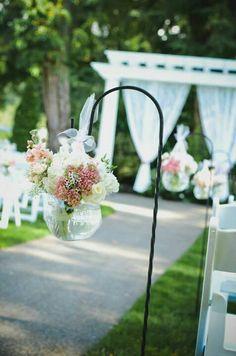 Sweet and simple blush wedding