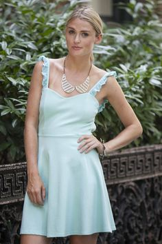 Polished Mint-To-Be Dress