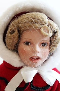 "Danbury Mint SHIRLEY TEMPLE ""LITTLE CAROLER"" Porcelain DOLL 17"" | eBay"