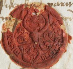 Pečat despota Zmaj Ognjenog Vuka, iz 1472. godine Serbian, Archaeology, Art History, Swords, Knights, Google, Historia, Crests, Knight