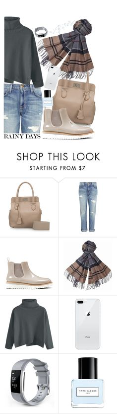 """Rainy Days"" by earthangell ❤ liked on Polyvore featuring Hermès, Current/Elliott, Nine West, Barbour and Marc Jacobs"