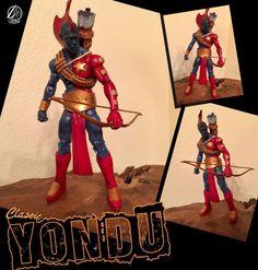 Yondu (classics versions) (Marvel Legends) Custom Action Figure