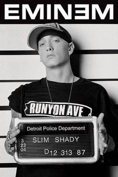Eminem - Mugshot - Official Poster. Official Merchandise. Size: 61cm x 91.5cm…