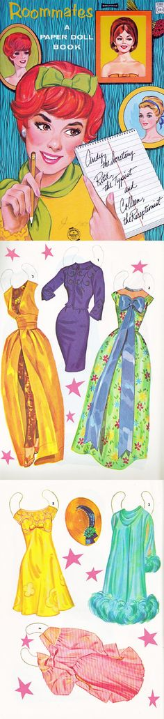 Roommates* The International Paper Doll Society by Arielle Gabriel for all paper doll and paper toy lovers. Mattel, DIsney, Betsy McCall, etc. Join me at ArtrA, #QuanYin5 Linked In QuanYin5 YouTube QuanYin5!